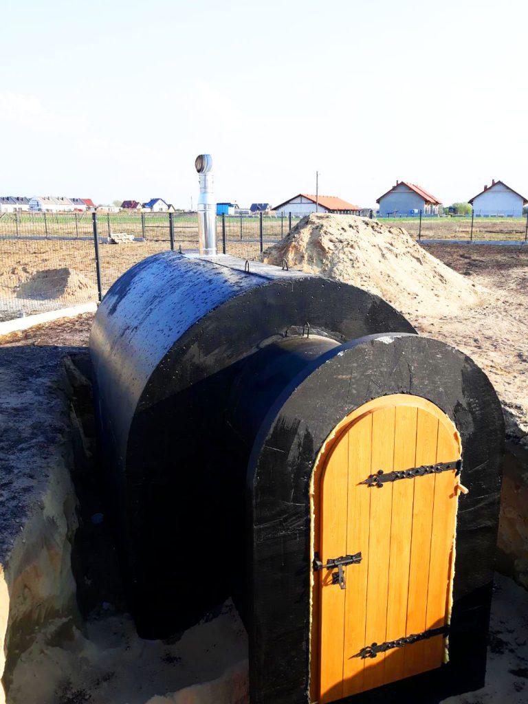 ogrodowa ziemianka od producenta szamb i piwnic ogrodowych - TOMEX